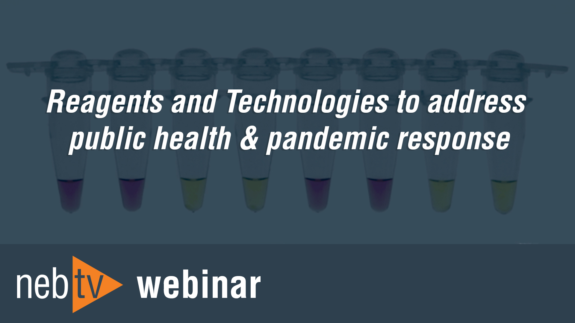 Reagents and technologies to address public health & pandemic response